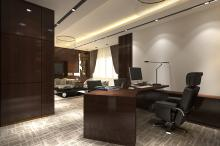 Interior Office General Manager Room at Bavet